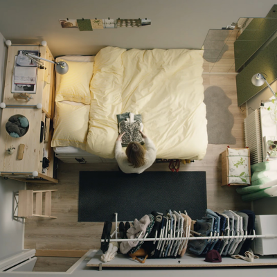 Tiny Space Living Ikeahacks From Ikea Core77