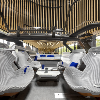 Designing the Interior of a Transforming Autonomous Vehicle