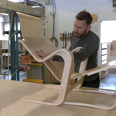 VAM Shows You How Marcel Breuer's Short Chair is Molded