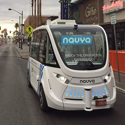 Las Vegas Launches Self-Driving Shuttle, Which Experiences Accident in First Hour of Service