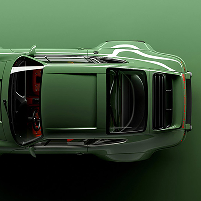 Here's What Happens When High-End Designers & Engineers Optimize a 27-Year-Old Porsche
