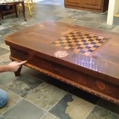 Fun Wizard Themed Mechanical Table With Hidden