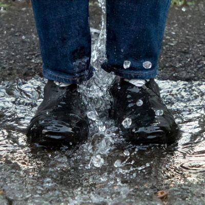 huge selection of d345c 0f5a1 Sneakerheads Take Note  Japanese Invention to Protect Footwear from Rain