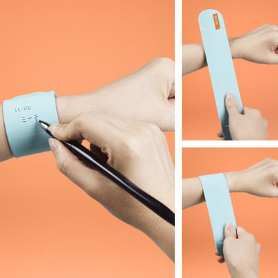 Take Note: WEMO is a Wearable Memo Band for Front Line Workers and Medical Use