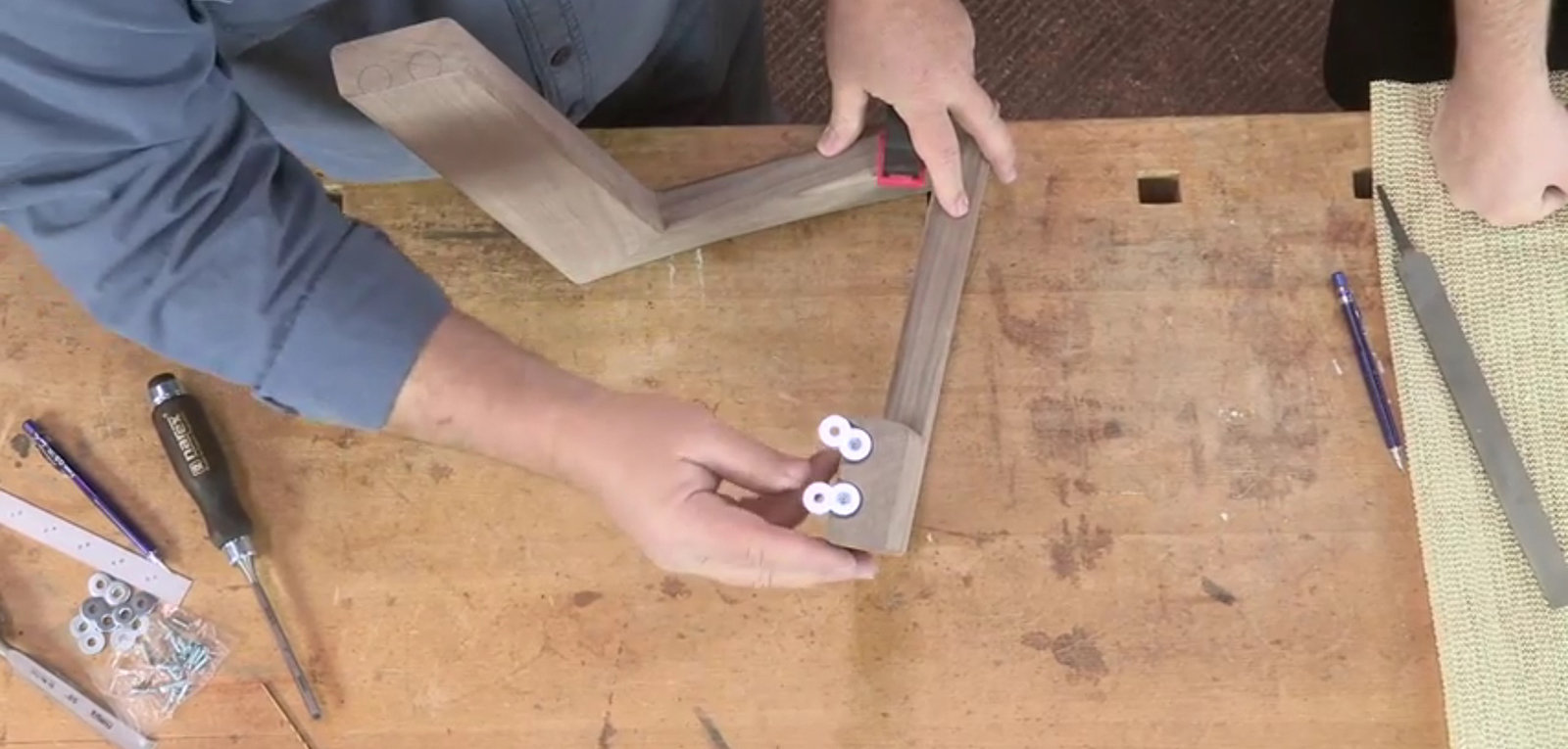 designing for wood movement, part 2: using cleats or buttons