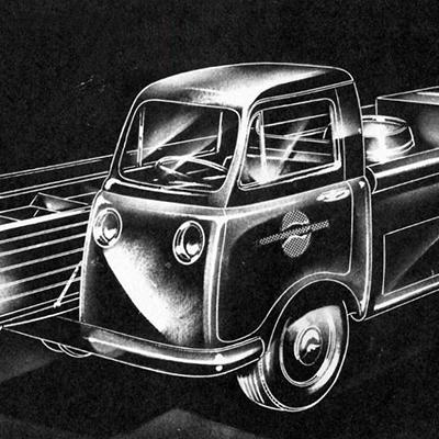 Auto Design Sketch & Rendering Challenge: Please Complete Preston Tucker's Unusual Pickup Truck
