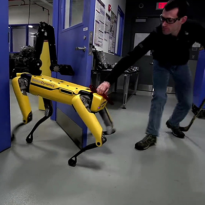Update: Boston Dynamics' Door-Opening Robot Now Taught to Fight Through Adversity