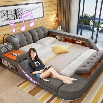 Unusual Furniture Design: These Super-Beds from China Come Loaded With Accessories