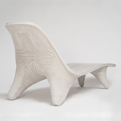 Philipp Aduatz & incremental3d Experiment with Construction Materials During the Furniture Design Process