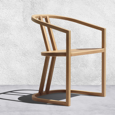 The UKB Chair is LA Inspired but Made Using Traditional Japanese Hand-Cut Joinery