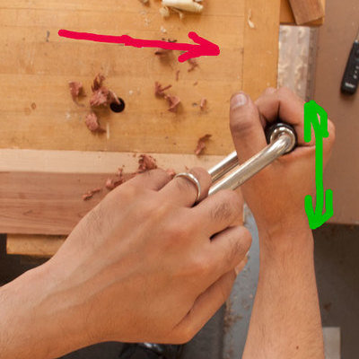 Tools & Craft #97: Tip for Using a Brace: Ratcheting