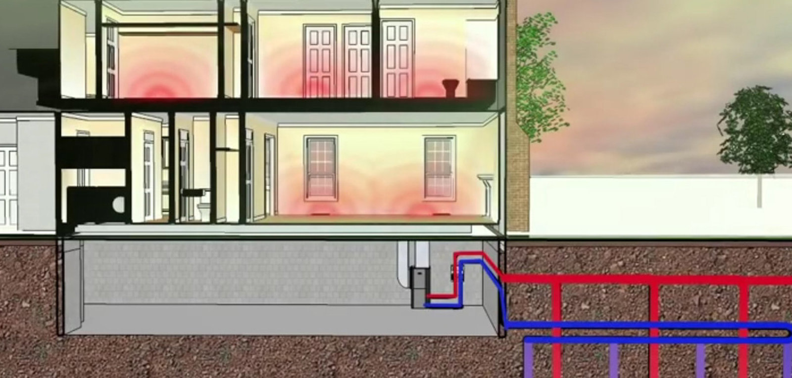 How Household Geothermal Energy Systems Work - Core77