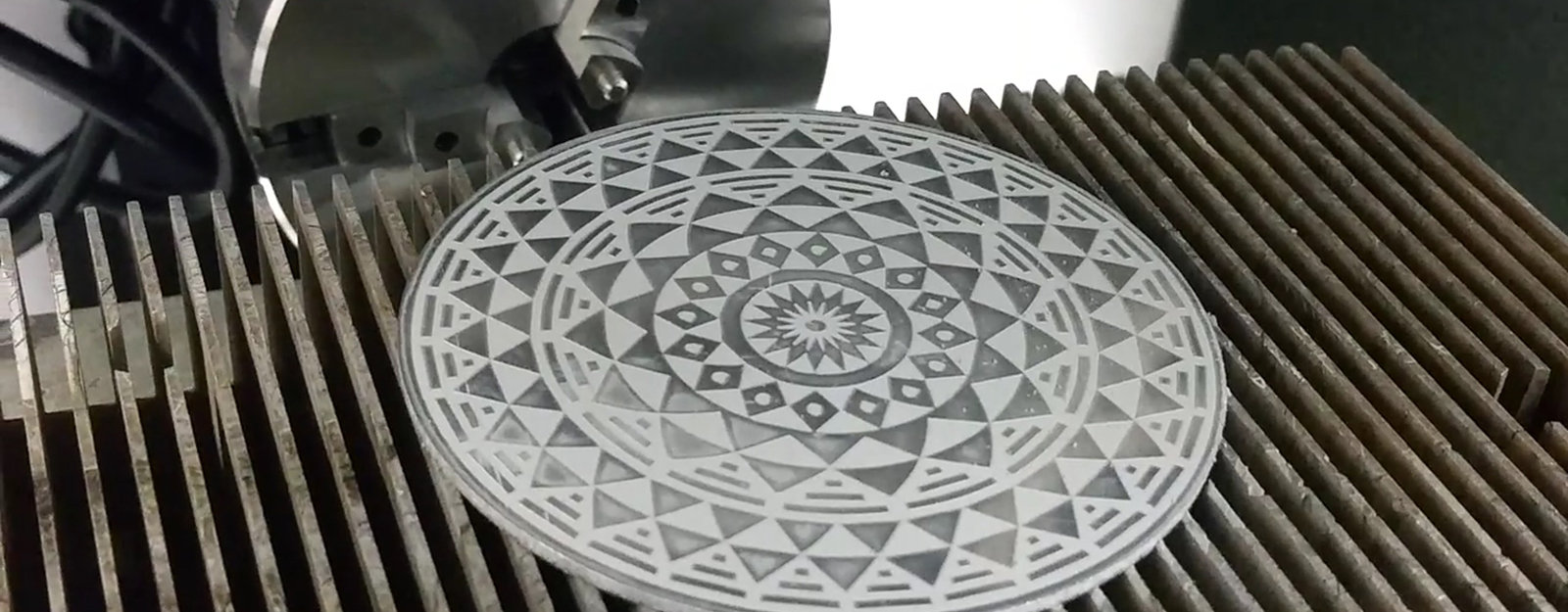 Wicked Footage (and Sound) of High Speed Laser Engraving - Core77