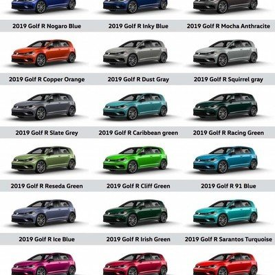 Volkswagen's Spektrum Program Offers a Whopping 40 Different Color