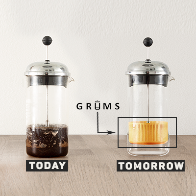 GRUMS: A French Press Grounds Collector