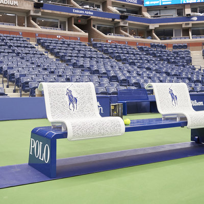 Michael Graves Teams Up With Landscape Forms to Create New US Open Courtside Furniture