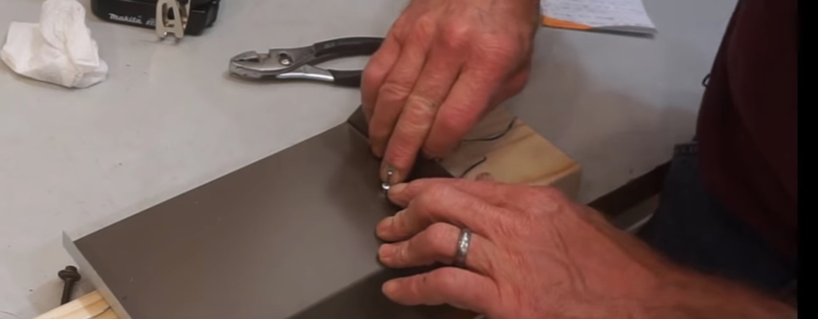 How to Easily Attach Sheet Metal to Wood: The