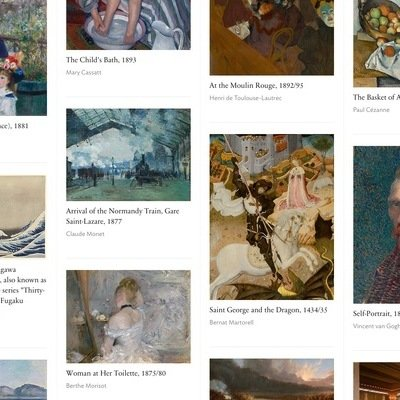 Art Institute of Chicago Makes 50,000 Famous Artworks Freely Downloadable
