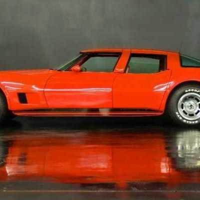 Ill-Fated Auto Design: Making a Four-Door 1980 Corvette by Cutting Two of Them in Half and Sticking Them Back Together