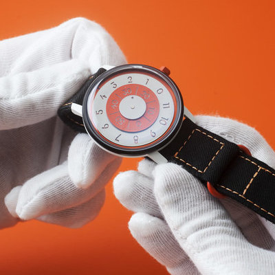 ANICORN's Second Watch Collaboration with NASA is Inspired By the Iconic Orange Astronaut Suit