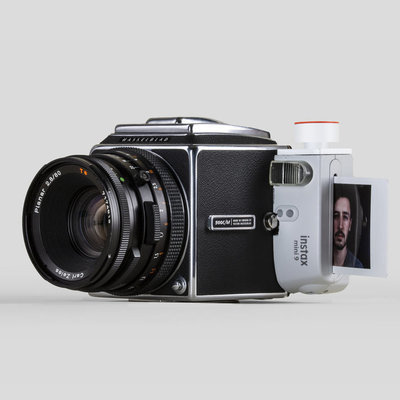 A 48-Hour Project to Merge a Hasselblad 500C/M and a FujiFilm Instax 9