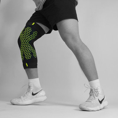 This Partially 3D Printed Leg Sleeve Ensures Safe (And Less Painful) Landings for Athletes
