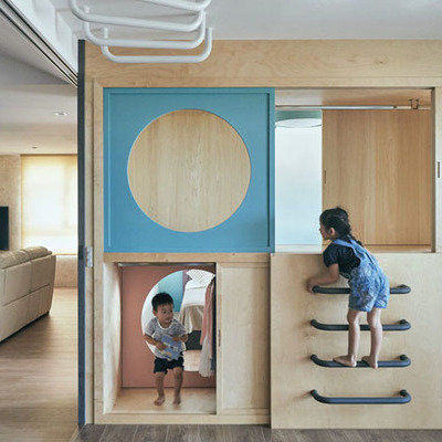 This Children's Wardrobe Ignites a Sense of Wonder Through a Series of Hidden Tunnels and Doors