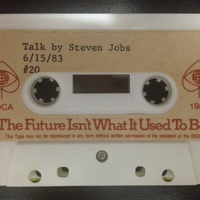 """How You Can More Accurately Predict the Future of Design, Using Steve Jobs' """"Lost Speech"""" from 1983 as an Example"""