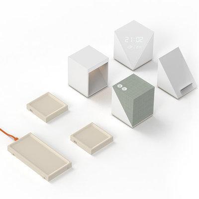 Block : A modular wireless tabletop electronic device set