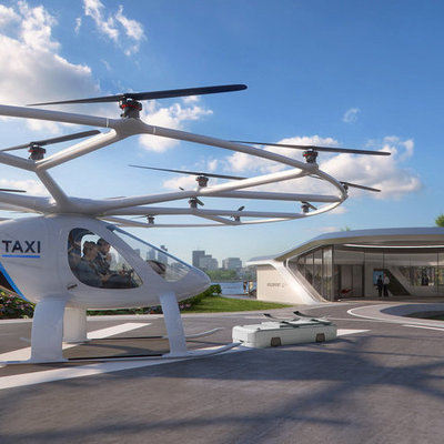 Looks Like We Might Be Catching Helicopters Instead of Cabs in the Near Future