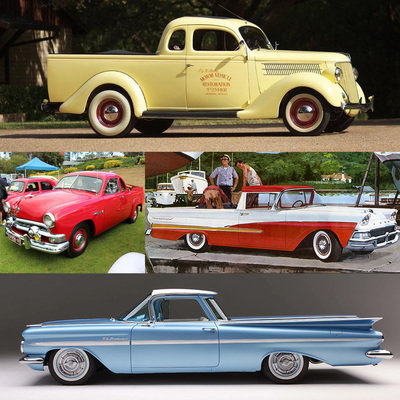 The Design Evolution of Car-Based Pickups, Part 2: From Australia to America