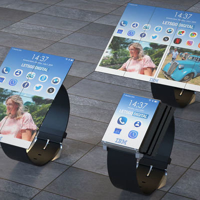 IBM Patents a Watch That Can Transform Into a Tablet