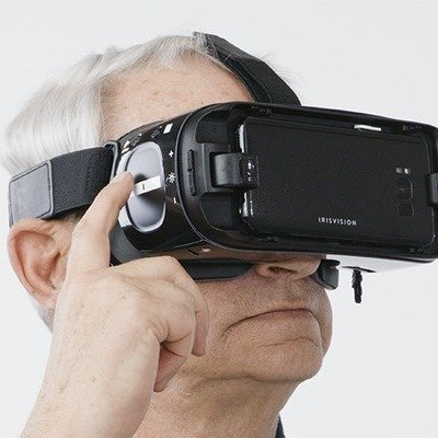 IrisVision: A Smartphone/Goggles Combination That Allows the Visually Impaired to See Clearly
