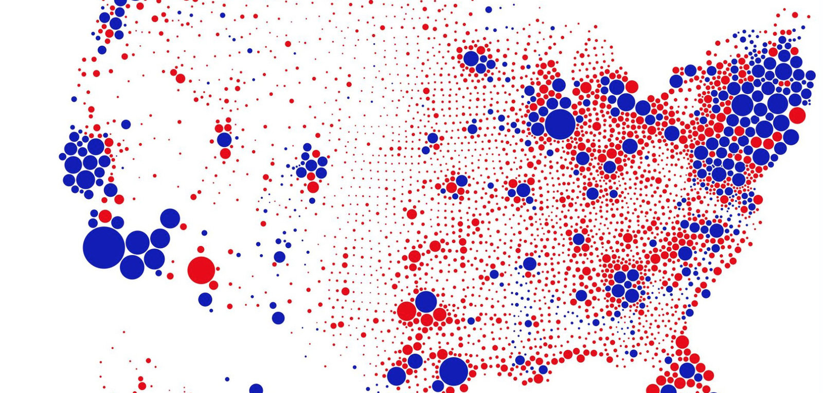 Image of: A Great Example Of Better Data Visualization This Voting Map Gif Core77