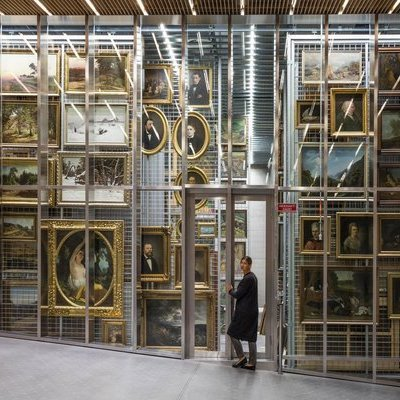 Seen and Unseen Art Gallery & Museum Storage Systems