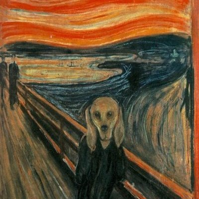 A Compelling Visual Theory that Edvard Munch was Actually Trying to Paint His Dog - Core77