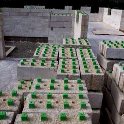 Eco-Friendly Construction Breakthrough: Lego-like Hempcrete Blocks That Don't Require Framing