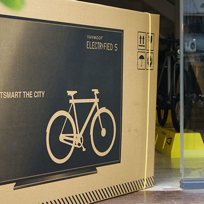 Clever Package Design Trickery: Bike Company Prints Flatscreen TVs on Shipping Cartons, Reduces Damage by 70%-80% - Core77