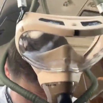 Check Out This Cool Auto-Fitting Emergency Oxygen Mask Provided to Commercial Pilots
