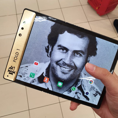 Pablo Escobar's Brother Now Producing and Selling a Foldable Smartphone
