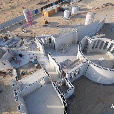 A New Milestone for 3D-Printed Construction is Reached in Dubai