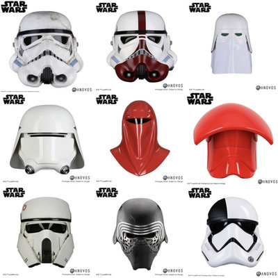 Design Expert Reviews Different Stormtrooper Helmets