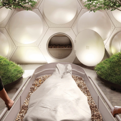 Finally, A Place To Compost Your Body When You're Done With It