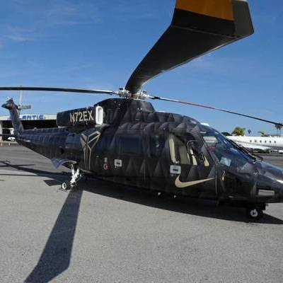 A Look at Kobe Bryant's Helicopter, the Sikorsky S-76B