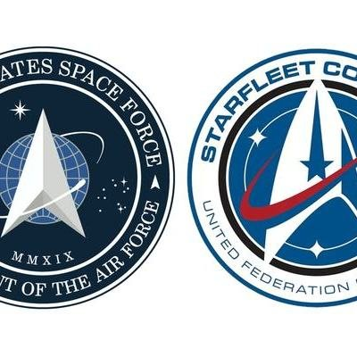 Surprise: The Space Force Logo is Not a Rip-Off of the Star Trek Logo