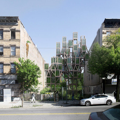 Could These Tree-Like Vertical Farms Be the Future of Urban Farming? - Core77
