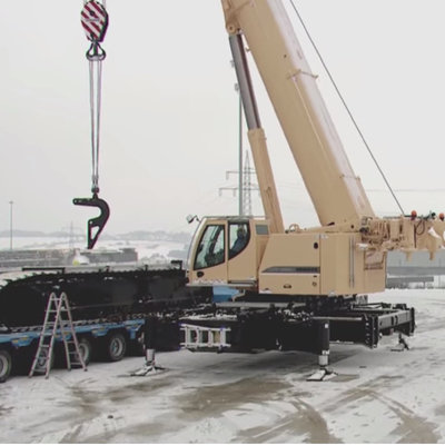 "Watch This Enormous Mobile Crane ""Self-Assemble"" - Core77"