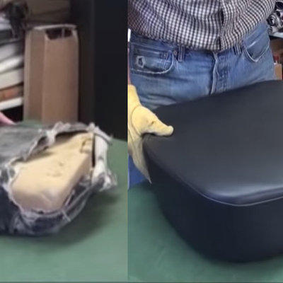 How to Restore a Truck's Torn, Trashed Seat - Core77