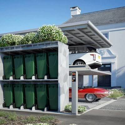 German-Designed Domestic Underground Storage System and Garbage Hideaway - Core77
