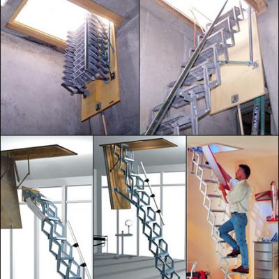 Super-strong folding aluminum steps - Core77
